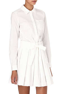 DIANE VON FURSTENBERG Montana cotton-blend shirt dress