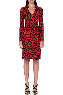 DIANE VON FURSTENBERG New Jeanne silk wrap dress