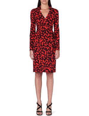 DIANE VON FURSTENBERG New Jeanne silk wrap dress