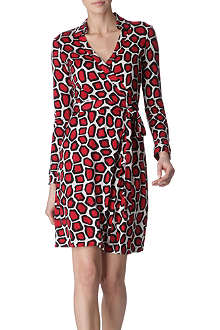 DIANE VON FURSTENBERG New Jeanne wrap dress