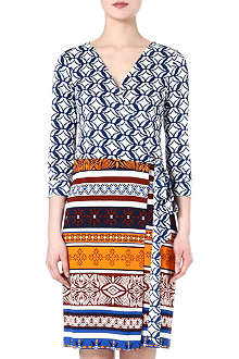 DIANE VON FURSTENBERG Julian wrap-dress