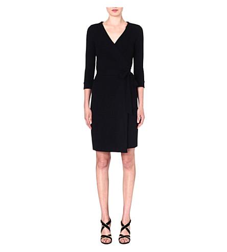 DIANE VON FURSTENBERG New Julian Two jersey wrap dress (Black