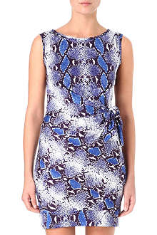 DIANE VON FURSTENBERG New Della python-print dress