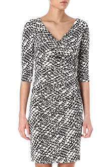 DIANE VON FURSTENBERG Bently cloud-print dress