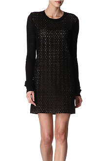 DIANE VON FURSTENBERG Linot fine-knit dress