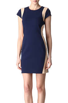 DIANE VON FURSTENBERG Pele two-tone dress