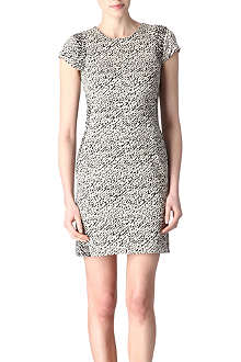 DIANE VON FURSTENBERG Pele snake wave dress