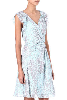 DIANE VON FURSTENBERG Delan wrap dress