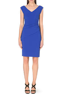 DIANE VON FURSTENBERG Bevan v-neck stretch-crepe dress