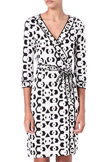 DIANE VON FURSTENBERG Banded Julian wrap dress