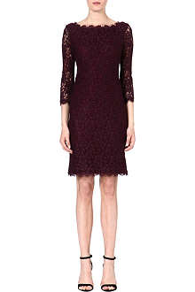 DIANE VON FURSTENBERG Zarita long lace dress