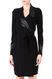 DIANE VON FURSTENBERG Glam wrap dress