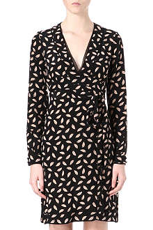DIANE VON FURSTENBERG Jasmine wrap dress