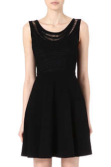 DIANE VON FURSTENBERG Idelia lace-panelled dress