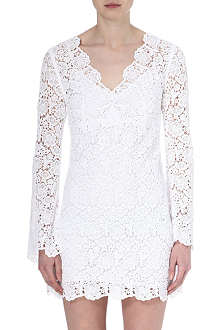 DIANE VON FURSTENBERG Hippolyte flower lace dress