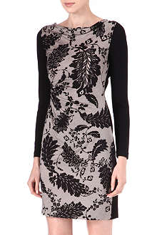 DIANE VON FURSTENBERG Kirby lace-print dress