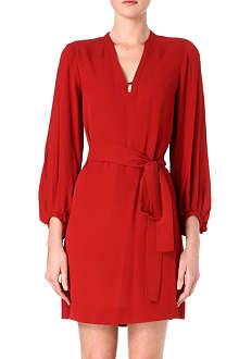 DIANE VON FURSTENBERG Tanyana silk shirt dress