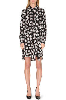 DIANE VON FURSTENBERG Prita stretch-silk shirt dress