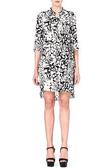 DIANE VON FURSTENBERG Prita leopard-print silk dress
