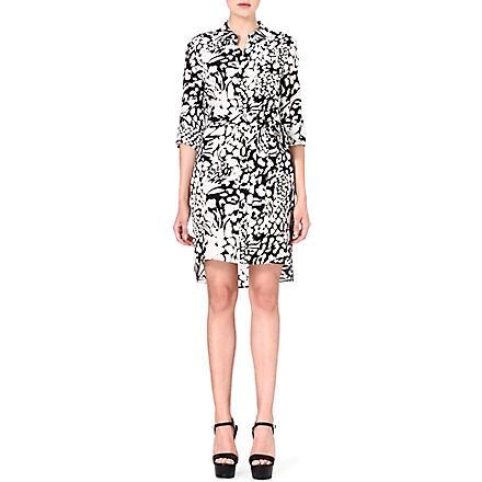 DIANE VON FURSTENBERG Prita leopard-print silk dress (Leopard