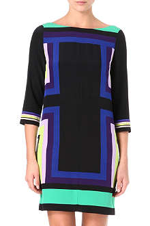 DIANE VON FURSTENBERG Avery geo-print dress