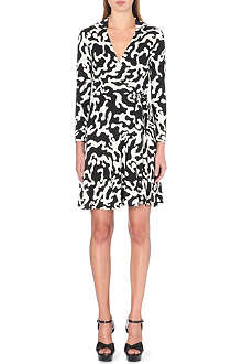 DIANE VON FURSTENBERG T72 silk wrap dress
