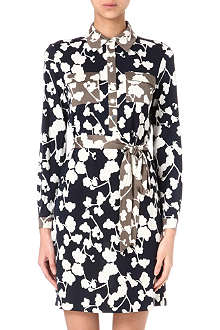 DIANE VON FURSTENBERG Grace orchid shirt dress