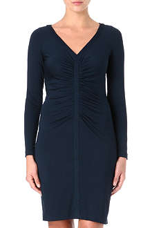 DIANE VON FURSTENBERG Greece ruched jersey dress