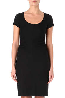 DIANE VON FURSTENBERG Bally ruched jersey dress