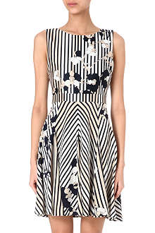 DIANE VON FURSTENBERG Kimana wool and silk dress