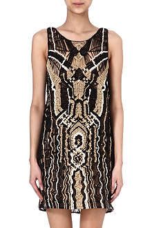 DIANE VON FURSTENBERG Neapoli crochet-knit dress