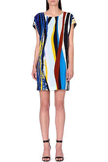 DIANE VON FURSTENBERG Tania embellished silk tunic dress