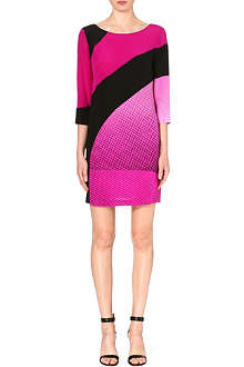 DIANE VON FURSTENBERG Sienna printed silk sheath dress
