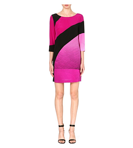 DIANE VON FURSTENBERG Sienna printed silk sheath dress (Purple