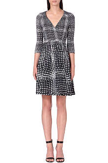 DIANE VON FURSTENBERG Amelia silk wrap dress