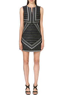 DIANE VON FURSTENBERG Amanda panelled dress