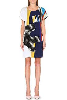 DIANE VON FURSTENBERG Kelsey Puzzle tunic dress