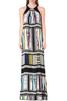 DIANE VON FURSTENBERG Jordan printed silk maxi dress