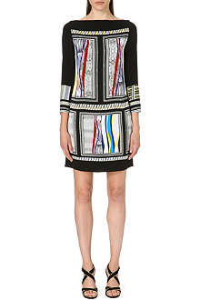 DIANE VON FURSTENBERG Jocelyn boat-neck dress