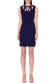DIANE VON FURSTENBERG Amy cut-out stretch-crepe dress
