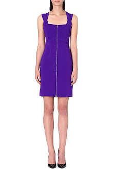 DIANE VON FURSTENBERG Corinne zip-front crepe dress