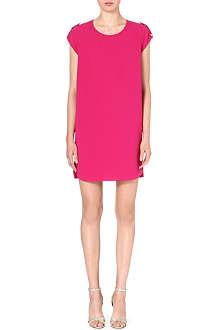 DIANE VON FURSTENBERG Dominique crepe t-shirt dress