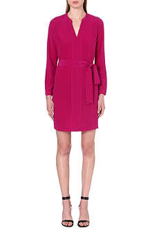 DIANE VON FURSTENBERG Hilary belted silk dress
