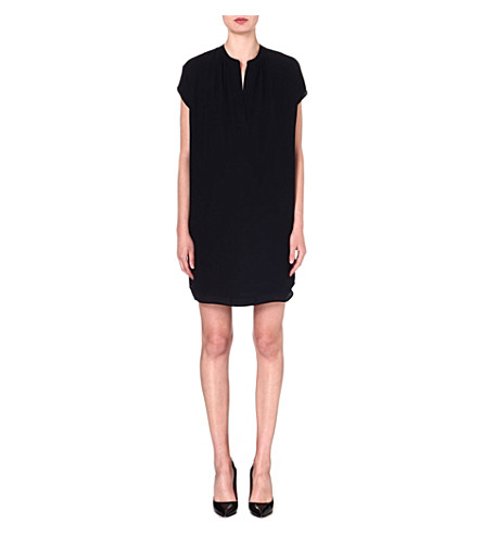 DIANE VON FURSTENBERG Joanna silk tunic dress (Black
