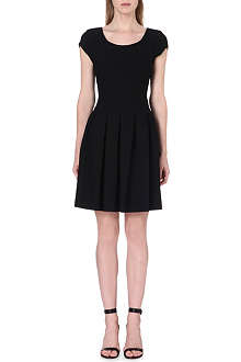 DIANE VON FURSTENBERG Julianna structured jersey dress