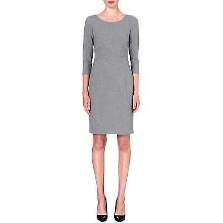 DIANE VON FURSTENBERG Stretch-crepe Marilyn dress (Fog