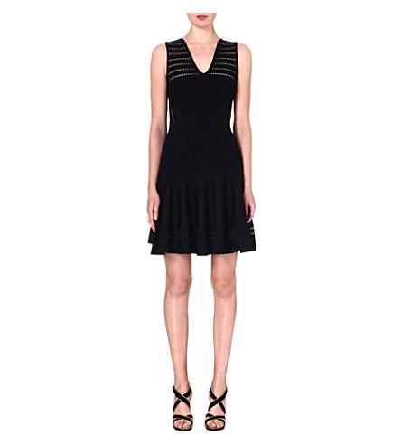 DIANE VON FURSTENBERG Carine knitted dress (Black