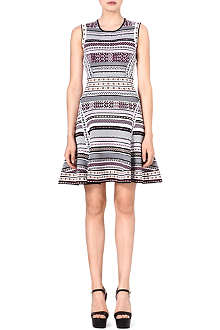 DIANE VON FURSTENBERG Eleanor jacquard-knit dress