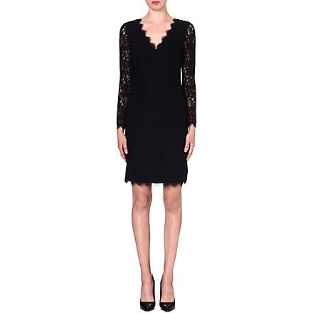 DIANE VON FURSTENBERG Dakota lace dress (Black