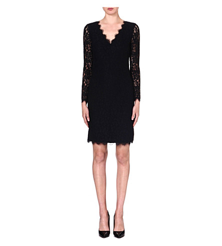 DIANE VON FURSTENBERG Dakota lace dress (Black